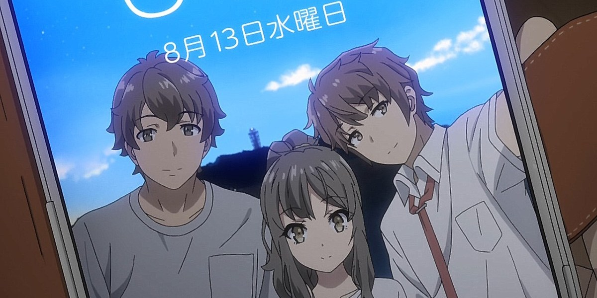 ansiedad social en Rascal Does Not Dream of Bunny Girl Senpai
