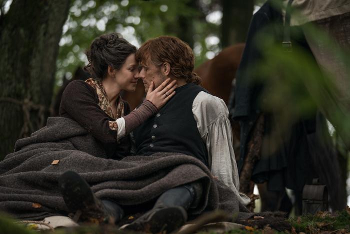 Caitriona Balfe Sam Heughan Outlander - El Palomitron