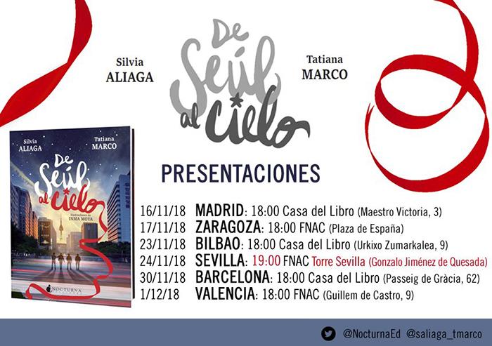 PRESENTACIONES DE SEÚL AL CIELO - EL PALOMITRÓN