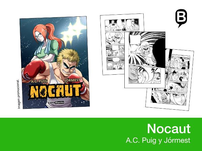 licencias Letrablanka XXIV Salón del Manga de Barcelona Nocaut - el palomitron