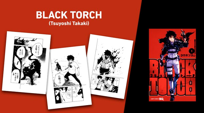 licencias Norma Editorial XXIV Salón del Manga de Barcelona Black Torch - el palomitron