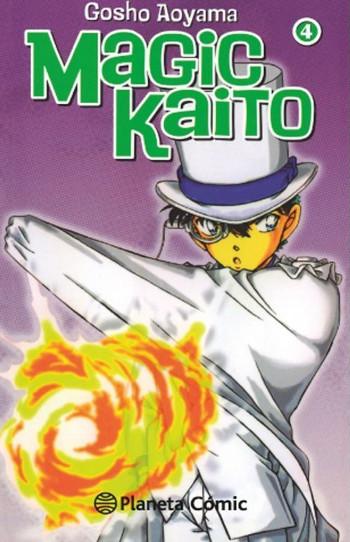 licencias Planeta Cómic XXIV Salón del Manga de Barcelona Magic Kaito #4 - El Palomitrón