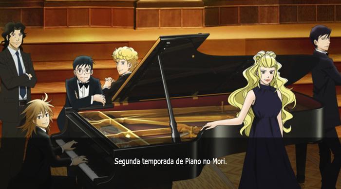 Guía anime invierno 2019 Piano no Mori 2S - El Palomitrón
