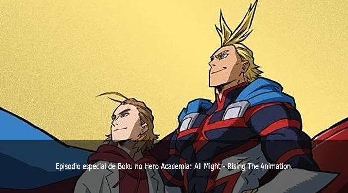 Guía de anime invierno 2019 Boku no Hero Academia All Might - Rising The Animation - El Palomitrón