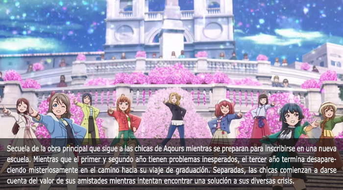 Guía de anime invierno 2019 Love Live! Sunshine!! The School Idol Movie Over the Rainbow - El Palomitrón