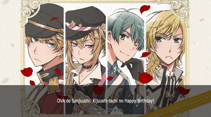 Guía de anime invierno 2019 Senjuushi Kijuushi-tachi no Happy Birthday! - El Palomitrón