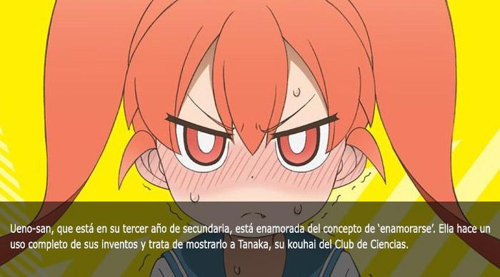 Guía de anime invierno 2019 Ueno-san wa Bukiyou - El Palomitrón