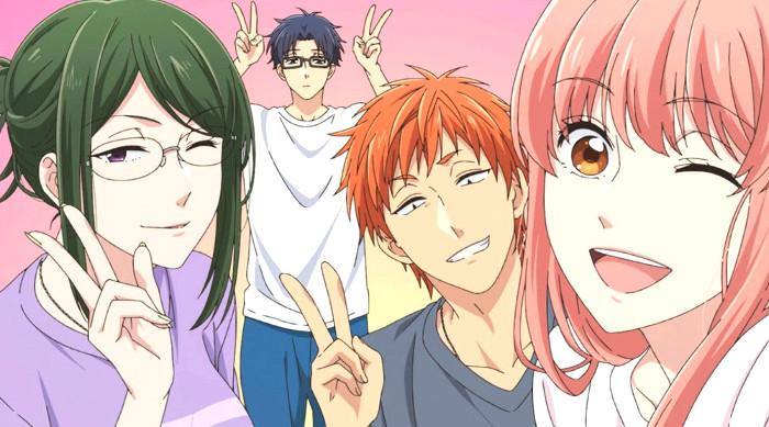Los mejores animes de 2018 wotakoi - El Palomitrón