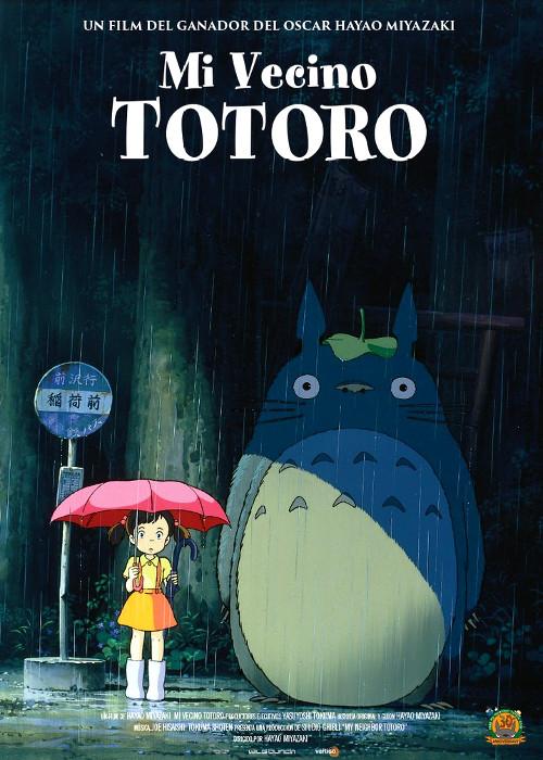 estreno de Mi vecino Totoro en España póster promocional - El Palomitrón