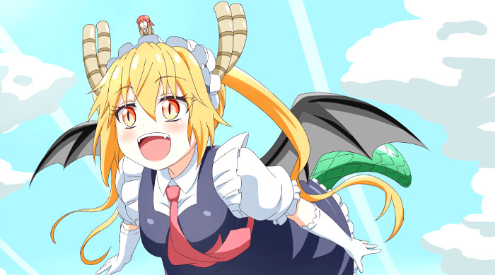 segunda temporada de Miss Kobayashi's Dragon Maid principal - El Palomitrón