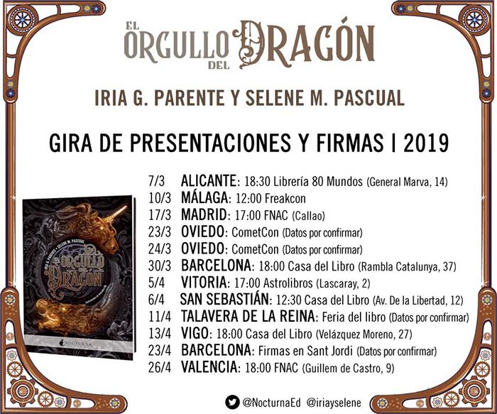 PRESENTACIONES EL ORGULLO DEL DRAGÓN - EL PALOMITRÓN