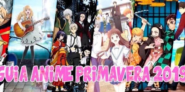 Guía de anime primavera 2019 imagen destacada - El Palomitrón