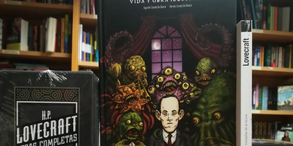 HP Lovecraft Vida y obra ilustradas destacada - El Palomitrón