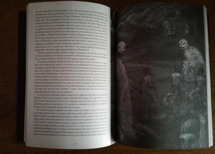 HP Lovecraft ilustraciones El Palomitrón