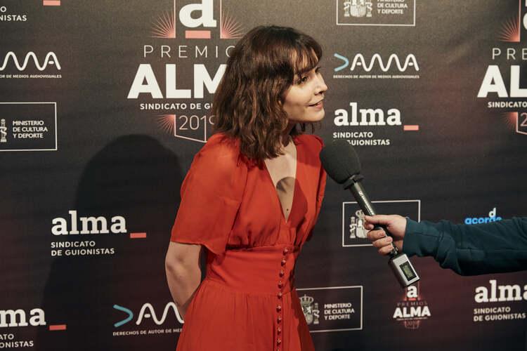 Premios ALMA. Nadia de Santiago, El Palomitrón