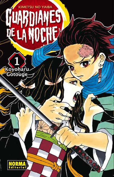 Reseña de Kimetsu no Yaiba #1, de Koyoharu Gotouge portada - el palomitron