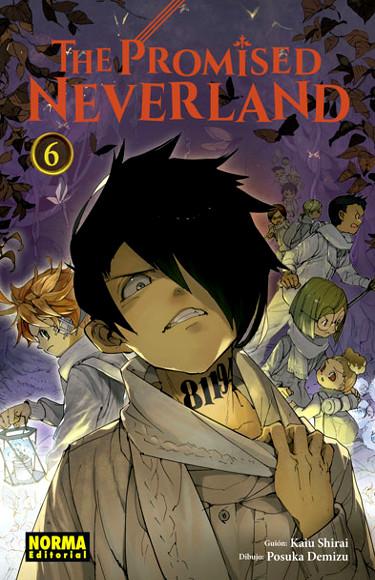 Reseña de The Promised Neverland #6 portada - El Palomitrón