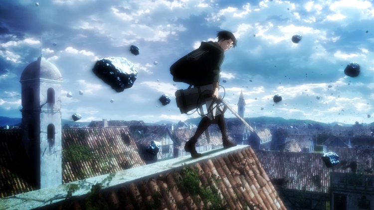 Crítica de Shingeki no Kyojin 3x16 Levi - el palomitron