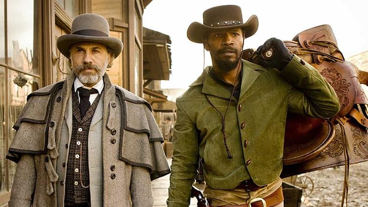 mejores westerns del siglo XXI Christoph Waltz, Jamie Foxx + Django desencadenado + El Palomitrón