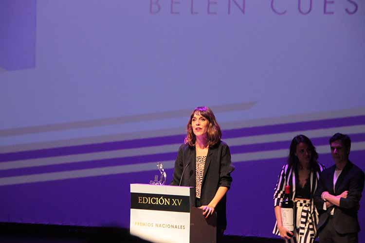 Belén Cuesta- Premio- El Palomitrón