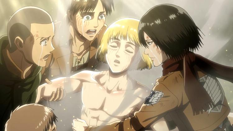 Crítica de Shingeki no Kyojin 3x18 Armin - el palomitron