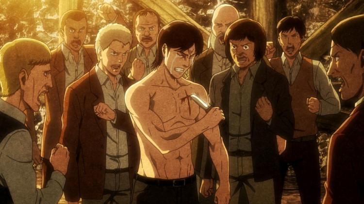 Crítica de Shingeki no Kyojin 3x20 escena 4 - El Palomitrón