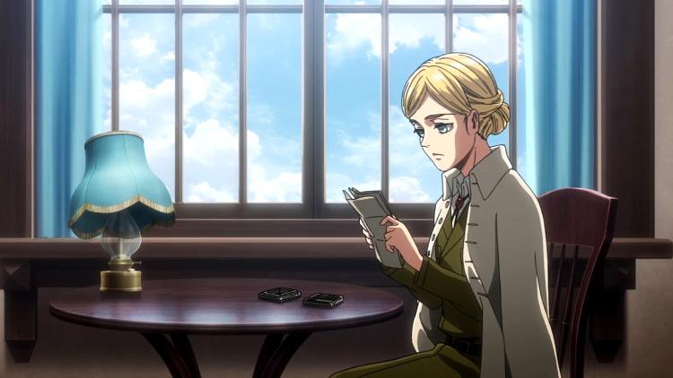 Crítica de Shingeki no Kyojin 3x21 Historia Reiss - El Palomitrón