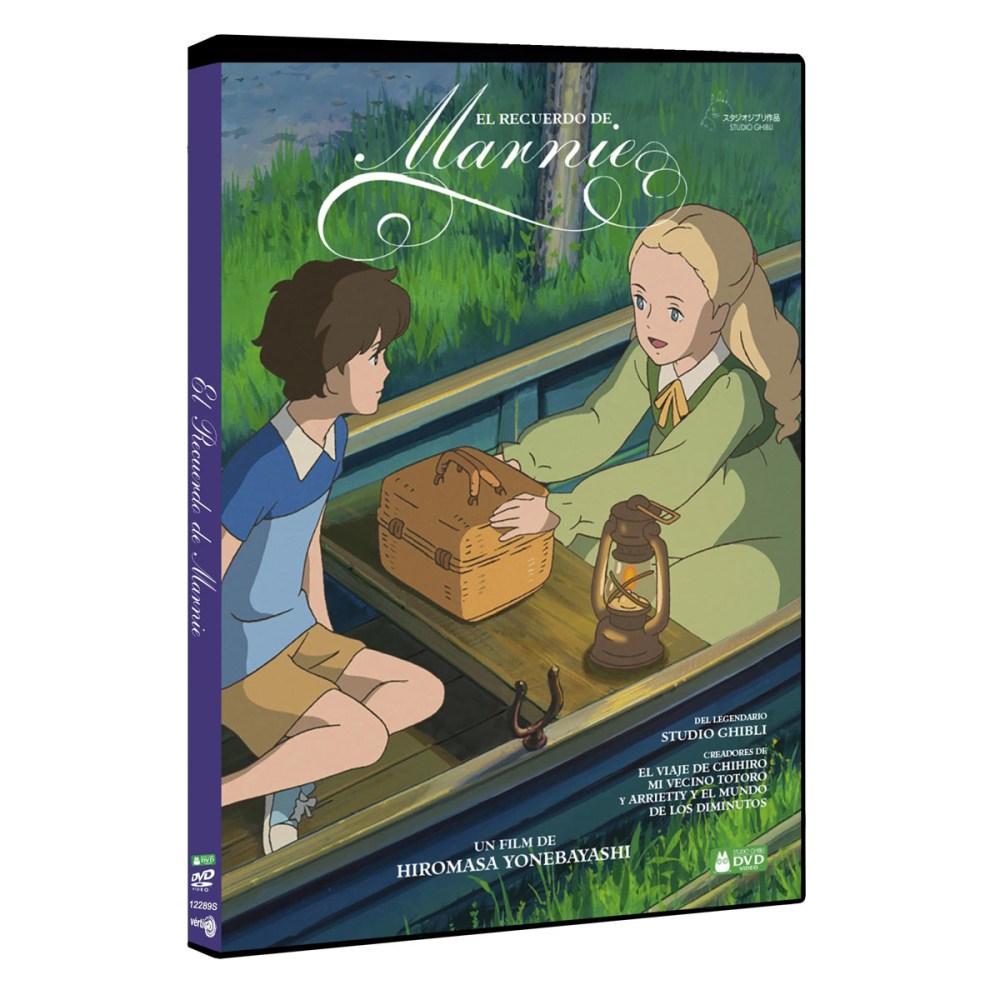 El Recuerdo de Marnie dvd - El Palomitrón