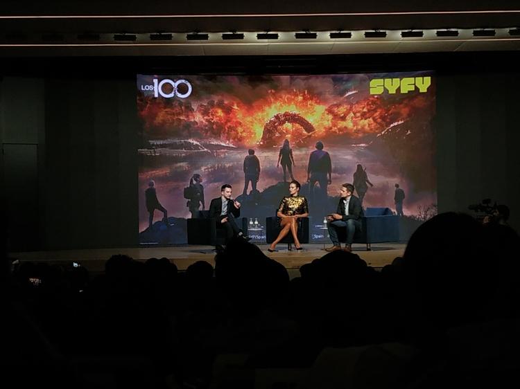 Los 100, fan-screening, EL PALOMITRÓN