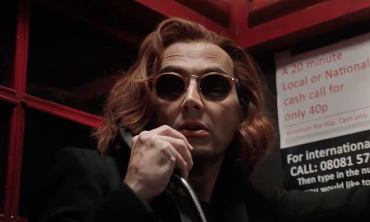 GOOD OMENS SERIE CROWLEY - EL PALOMITRÓN