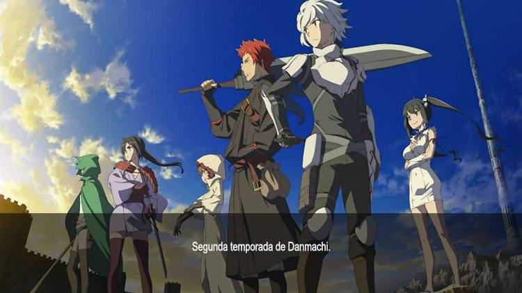 Guía de anime verano 2019 Danmachi S2 - el palomitron