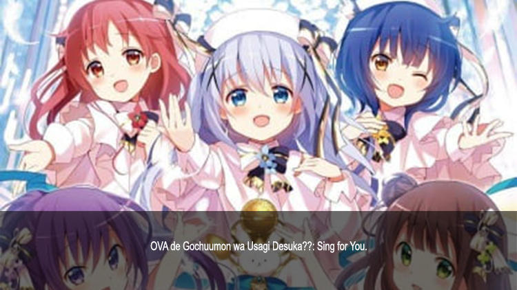 Guía de anime verano 2019 Gochuumon wa Usagi Desuka - El Palomitrón