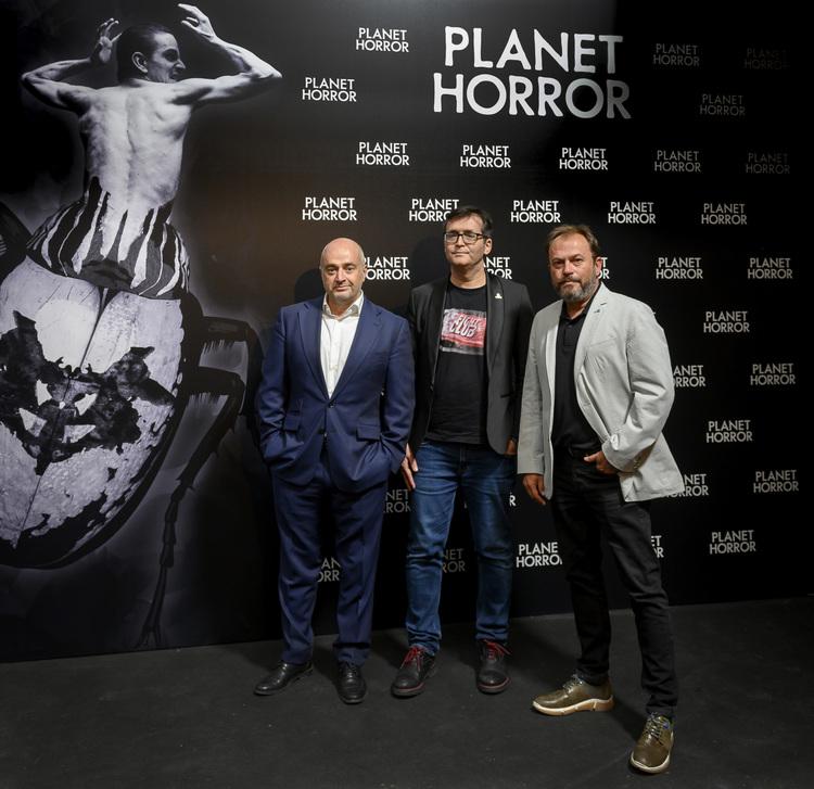 Planet horror, Manuel Balsera, Angel Sala y David Fernandez, EL PALOMITRÓN