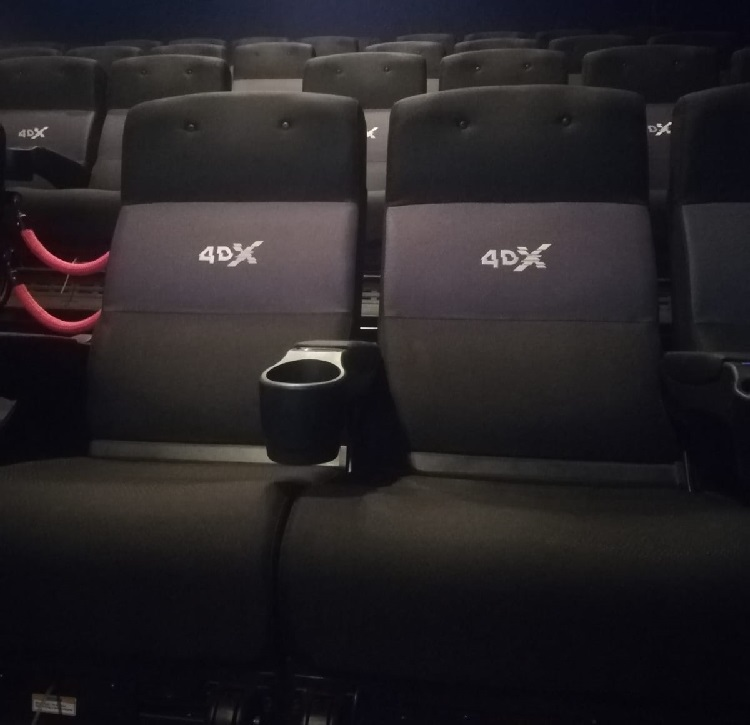 Cine 4DX + Kinépolis + El Palomitrón