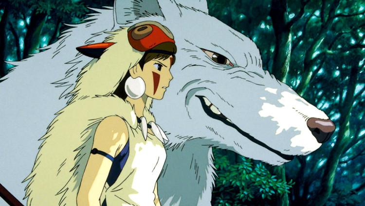 La princesa Mononoke y Mi vecino Totoro princesa - El Palomitrón
