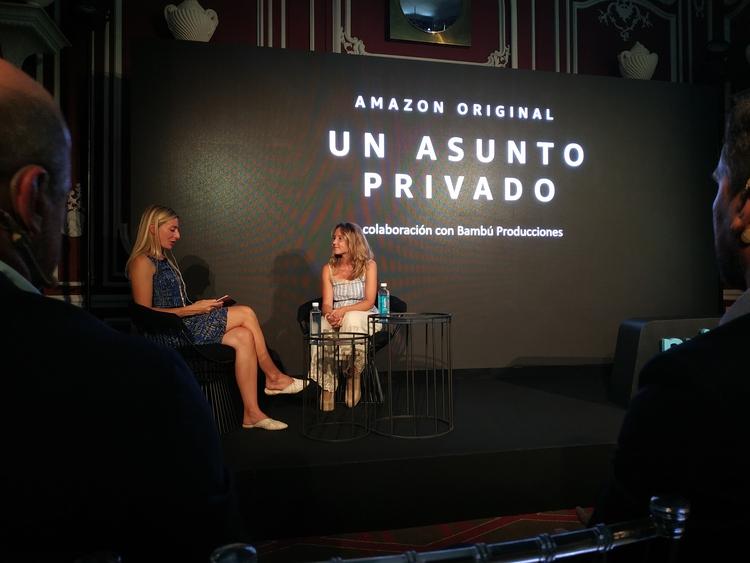 Un asunto Privado, Teresa Fernández y Georgia Brown, EL PALOMITRÓN