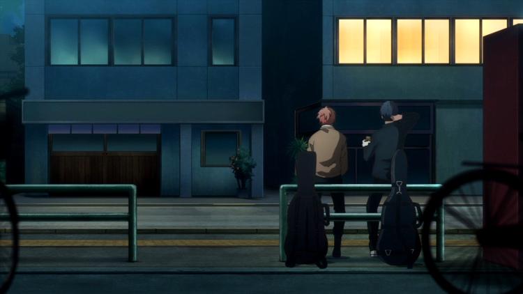 Crítica del anime de Given Mafuyu y Uenoyama 1 - El Palomitrón