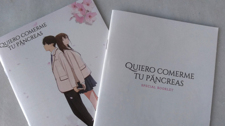 edición coleccionista de Quiero comerme tu páncreas foto 4 - El Palomitrón