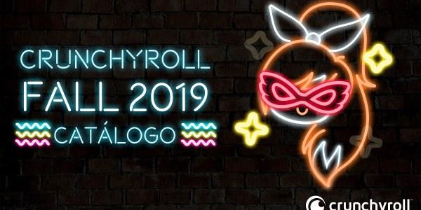 Crunchyroll anime otoño 2019 destacada - El Palomitrón