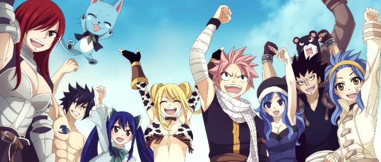 final del anime de Fairy Tail gremio de magos - El Palomitrón