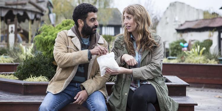 Daisy Haggard, Adeel Akhtar, Back To Life, EL PALOMITRÓN