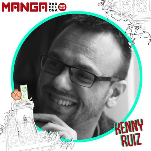 Autores invitados al Manga Barcelona 25 Kenny Ruiz - El Palomitrón
