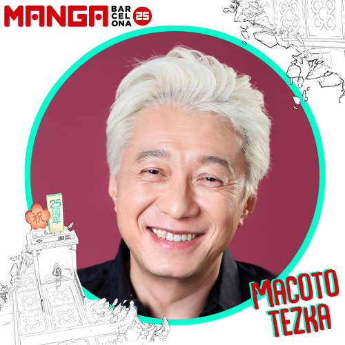 Autores invitados al Manga Barcelona 25 Macoto Tezca - El Palomitrón