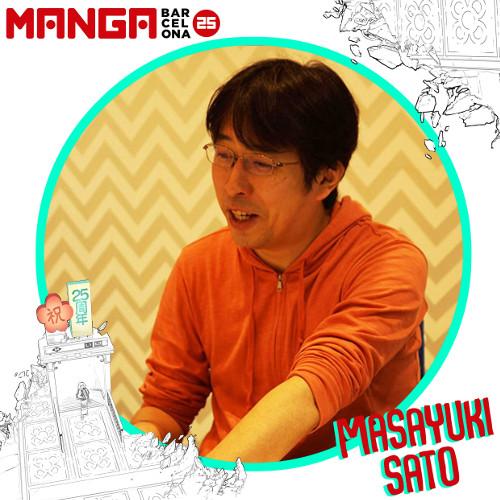 Autores invitados al Manga Barcelona 25 Masayuki Sato - El Palomitrón
