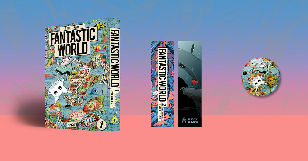 Reseña de Fantastic World Material exclusivo - El Palomitrón
