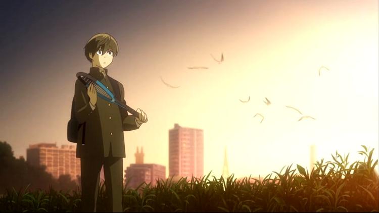 Crítica de Hoshiai no Sora escena 3 - El Palomitrón