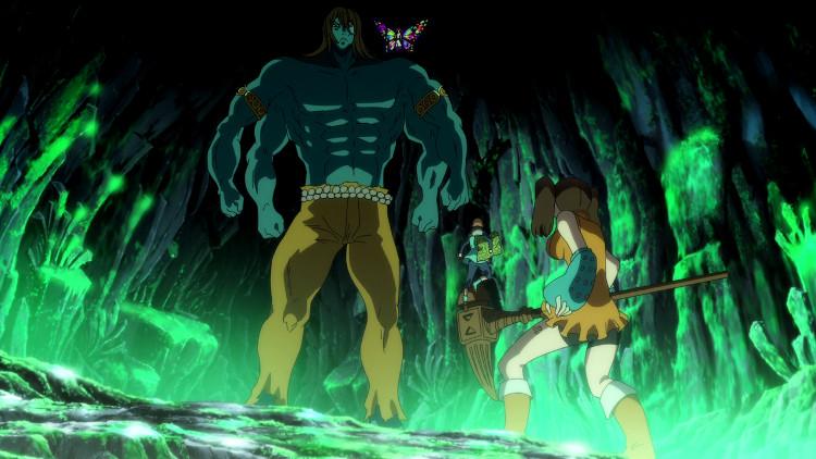 Crítica de Nanatsu no Taizai tercera temporada capítulos 1-8 Drole y Gloxinia - El Palomitrón