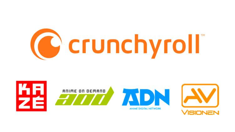 Crunchyroll se convierte en la propietaria mayoritaria de VIZ Media Europe Group logos - El Palomitrón
