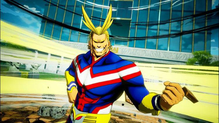 Personajes de My Hero Academia One's Justice 2 All Might - El Palomitrón
