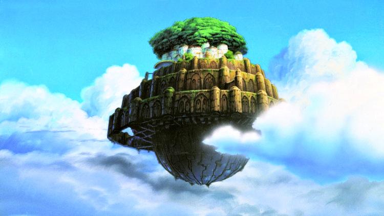 Películas Studio Ghibli en Netflix febrero 2020 El castillo en el cielo - El Palomitrón